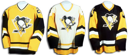 The Penguins finally turned all black and gold in January of 1980.