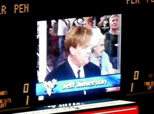 Jeff Jimerson returned Tuesday night
