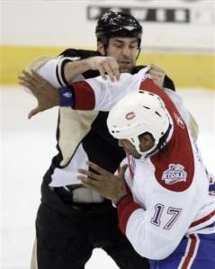 Canadiens Penguins Hockey