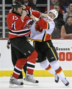 Flames Devils Hockey