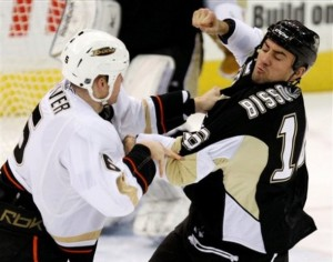 Ducks  Penguins Hockey