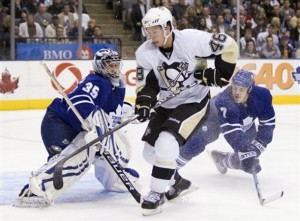 Penguins Maple Leafs Hockey